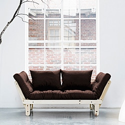 Chocolate/ Natural Pine Fresh Futon Beat
