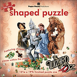 Paper House 'Wizard of Oz: Poppy Field' Jigsaw Puzzle (500-piece)
