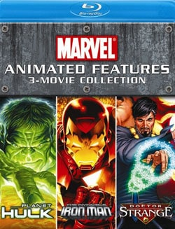 Marvel Animated Features 3-Movie Collection (Blu-ray Disc) 8820209