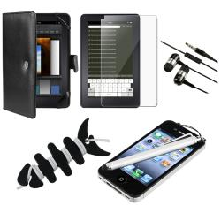 Case/ LCD Protector/ Headset/ Wrap/ Stylus for Amazon Kindle Fire