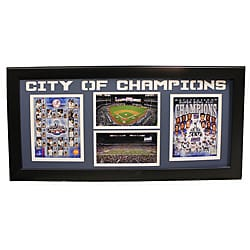 2012 New York City of Champions Framed Cutout Photo