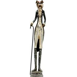 Red Vanilla 24.75-inch Decorative Dog