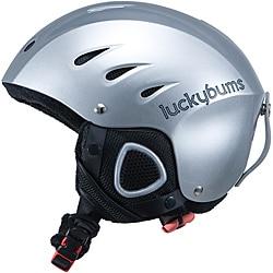 Lucky Bums Adult Silver Snow Sport Helmet