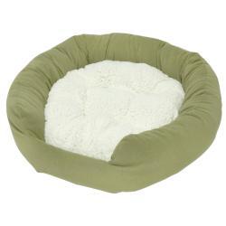 Moxy Medium Sage Donut Dog Bed