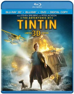 The Adventures of Tintin 3D (Blu-ray/DVD) 8837618