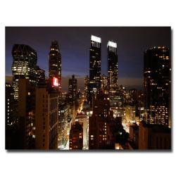 "Ariane Moshayedi 'City Lights' Canvas Art, 30"" x 47"""