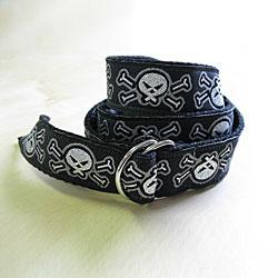 Power Capes 'Skeletonz Kids' D-Ring Belt