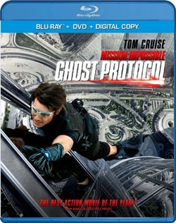 Mission: Impossible Ghost Protocol (Blu-ray/DVD) 8846324