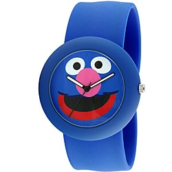 Sesame Street Kids' Blue Grover Slap Watch
