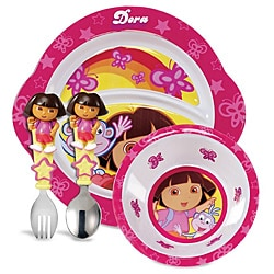Munchkin Dora the Explorer Dining Set
