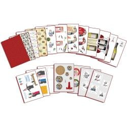Flower Soft Katy Sue Designs 'Everyday-The Wine Buffs' Papercraft Kit