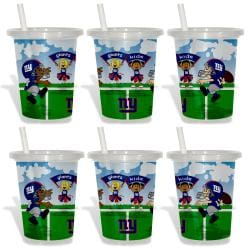 New York Giants Sip and Go Cups (Pack of 6) 8873621