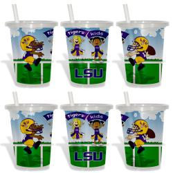 LSU Tigers Sip and Go Cups (Pack of 6) 8873790