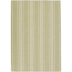 Country Living Hand-woven Green Darwin Wool Rug (3'6 x 5'6)