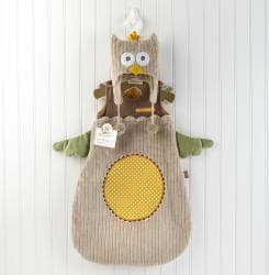 Baby Aspen My Little Night Owl Snuggle Sack Cap Gift Set