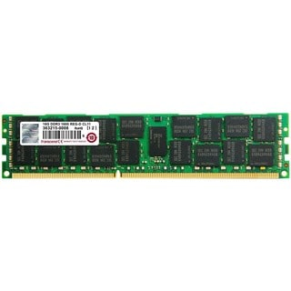 Transcend 16GB of DDR3 the Memory 240Pin Long-DIMM DDR3-1600 ECC Regi