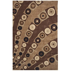 "Dynasty Hand-tufted Multi Area Rug (7'9""x10'9)"