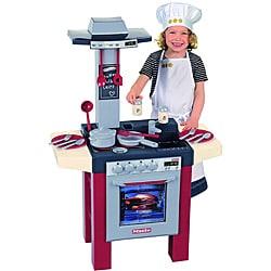 Theo Klein Miele Kids' Durable Play Kitchen Set with Utensils