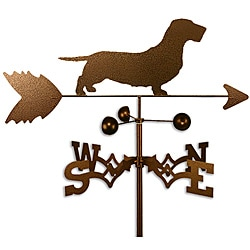 Wirehaired Dachshund Dog Weathervane