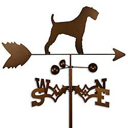 Handmade American Airedale Dog Weathervane