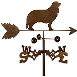 Handmade Cavalier King Charles Dog Copper Weathervane