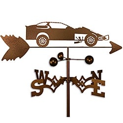 Handmade Modified Dirt Late Race Car Racing Weathervane