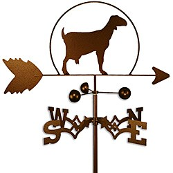Handmade Milk Goat Weathervane