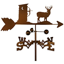 Handmade Deer Hunter Outhouse Weathervane