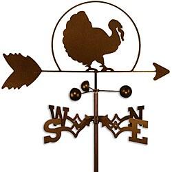 Handmade Thanksgiving Turkey Bird Weathervane