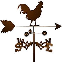 Handmade Cuckoo Rooster Weathervane