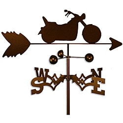 Handmade Low Rider Chopper Motorcycle Weathervane