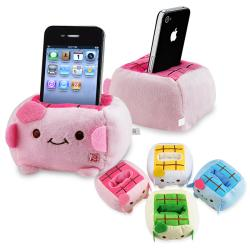 INSTEN Random Color Cartoon Plush Universal PDA Holder