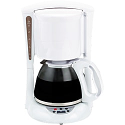 Brentwood TS-218 White Digital 12-cup Coffeemaker 8909347