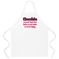 Attitude Aprons 'Chocolate is Proof' Apron