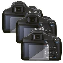 INSTEN Clear Screen Protector for Canon EOS 1100D (Pack of 3)