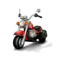 Harley-style Battery Operated Red Chopper Motorcycle Ride-on