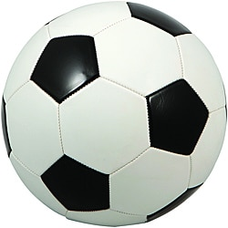 Premium Regulation Black and White Soccer Ball (Case of 25)