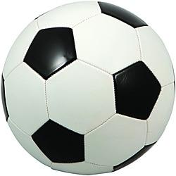 Premium Regulation Black and White Soccer Ball (Case of 25)