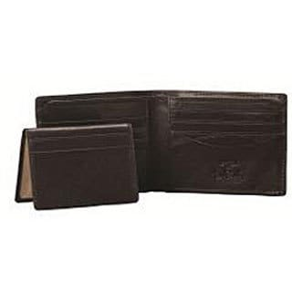 Tony Perotti Italian Leather Prima Wallet with Removable Credit Card Case