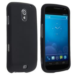 BasAcc Black Snap-on Rubber Coated Case for Samsung Galaxy Nexus i515