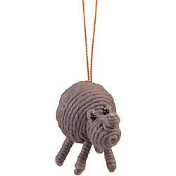 Rhino Yarn Ornament (Colombia)