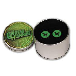 Green Hornet Movie Cufflinks in Collectible Tin