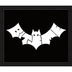 L.A. Pop Art 'Bite Me Bat' Framed Print