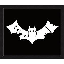 L.A. Pop Art 'Bite Me Bat' Framed Print