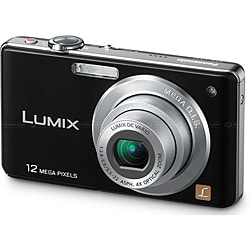 Panasonic DMC-FS12 12.7MP Black Digital Camera