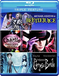 Beetlejuice/Charlie And The Chocolate Factory/Tim Burton's Corpse Bride (Blu-ray Disc) 8938192