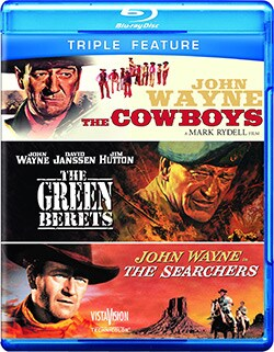 The Cowboys/The Green Berets/The Searchers (Blu-ray Disc) 8938201