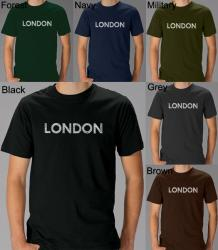 Los Angeles Pop Art Men's London T-Shirt