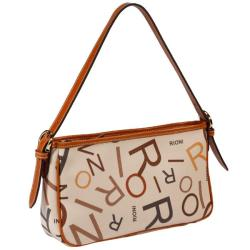 Rioni Medley Cream Canvas Shoulder Bag