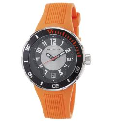 Philip Stein Men's 34-BRG-RO 'Active Extreme' Orange Rubber Strap Watch
